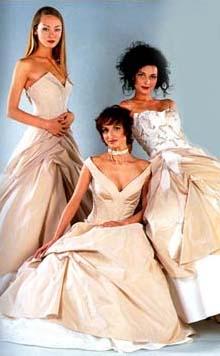 Современная свадебная мода