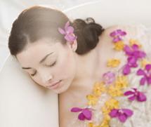 Ароматерапия в ванной