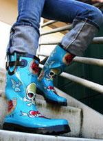 Резиновые сапоги - стильно, практично... модно!