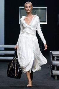 Неделя Моды в Москве. День 1-2. Мода весна-лето 2008. Итальянский стиль и светский оттенок российских дизайнеров.