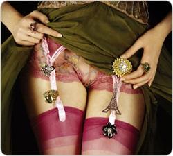 Бриллианты под юбкой: Ювелиры создают интимные украшения