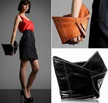 Оригами новая конструкция сумок-клатчей.