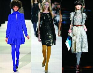 Мода Осень-Зима 2008 – Грандиозное возвращение колготок.