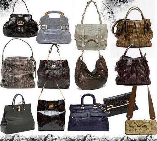 Обзор модных сумок сезона Осень-Зима 2012-2013.  Фотографии.