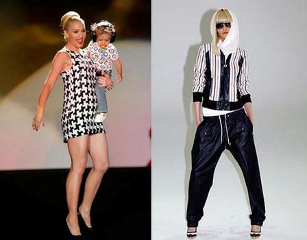Модная одежда 2008 от Гвен Стефани