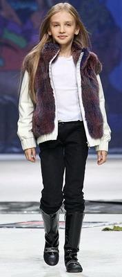Илья Шиян на Неделе Моды в Москве