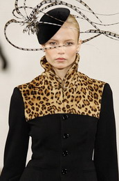 Модные меха зимы 2009