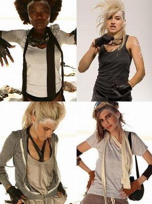 Alternative apparel представляет «сильную» одежду для  сильных женщин
