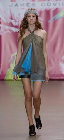 Мода весна-лето 2009: платья