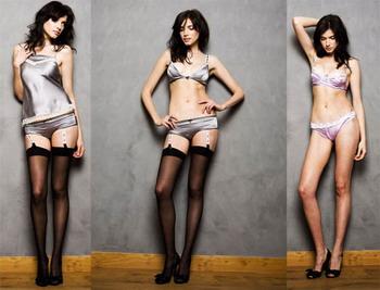 Коллекция белья 2008 Si Belle подчеркивает мир чувственной красоты
