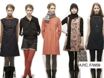 Делайте покупки на работе с новой коллекцией A.P.C на осень/зиму 2008-2009