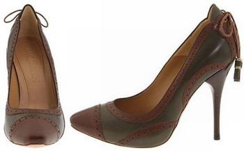 Шпильки в викторианском стиле – настоящая красота от Alexander McQueen