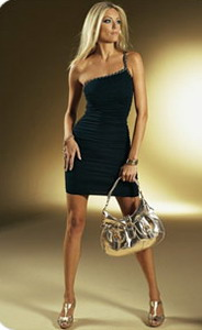 Мода 2009. Вечерние платья и аксессуары