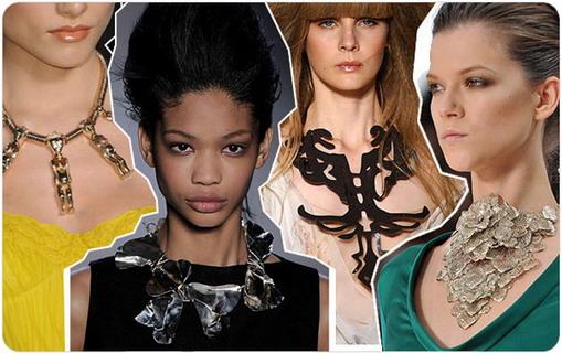 Модные украшения весна-лето 2009