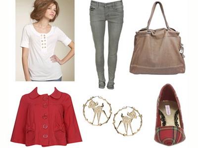 Модные комбинации одежды. Весна 2009