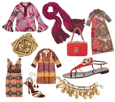 Мода на Восток