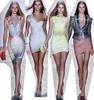 Коллекция Hervé Léger от Max Azria на весну/лето 2009 представлена на неделе моды в Нью-Йорке
