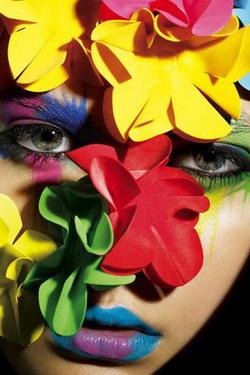 Модный макияж 2009.