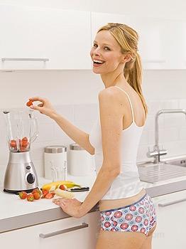 Хозяйке на заметку - порядок на кухне.