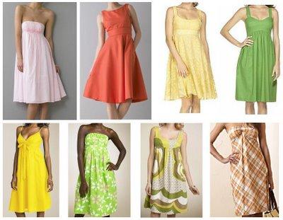 ...также летние сарафаны экзотически ярких цветов.  Не выходят из моды и...