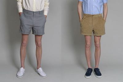 Модные коллекции мужских шорт