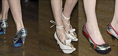 Модная обувь осень-зима 2009-2010. Фото