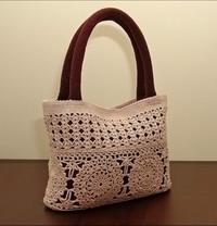 Мода осень 2009. Вязаные сумки