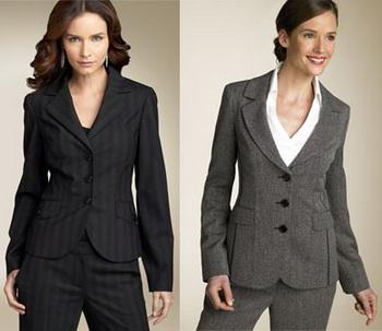 Деловой look - мода 2009-2010