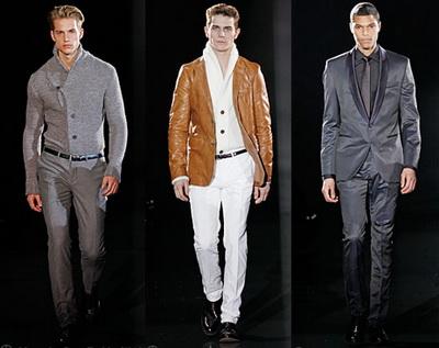 Мужская мода осень 2009