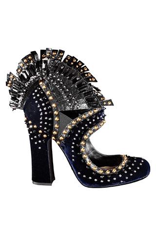 """Модная обувь осени 2009: пять  """"горячих """" трендов."""