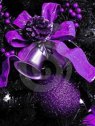 Модные украшения для новогодней ёлки 2010