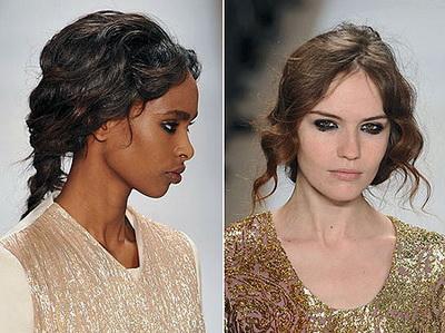 Модные прически 2010 для стильной леди