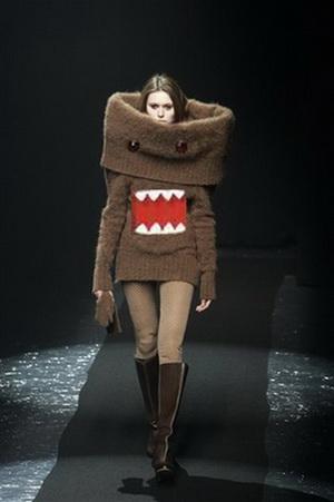 Странная мода - самые необычные наряды модных дизайнеров