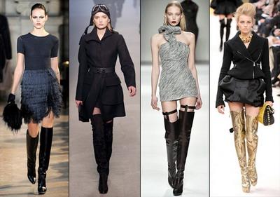 Весенняя мода: ботфорты