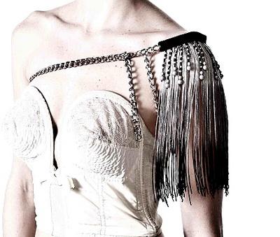 Модное украшение 2010: стильные плечи
