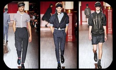 Мода для мужчин 2010. Парижские тренды сезона весна-лето 2010