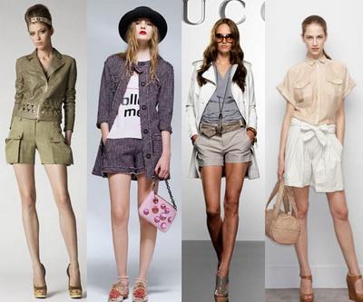 Мода весна-лето 2010: 5 направлений