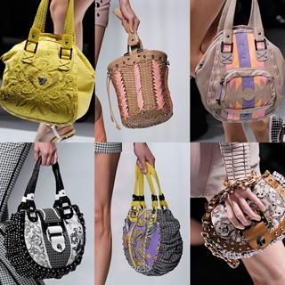В этом сезоне в моде снова будут сумки-клатчи, багеты.