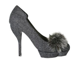Актуальный тренд осени 2010: обувь с трикотажем