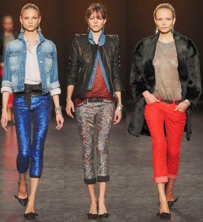 Модные джинсы наступающей осени