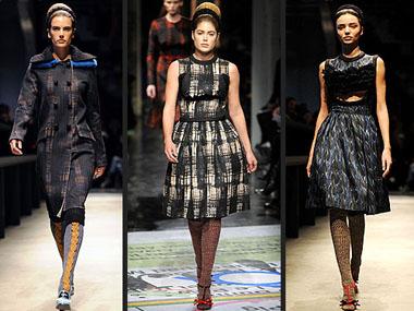 Модная коллекция осень-зима 2010/2011 от Prada