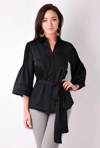 Модные блузки сезона осень-зима 2010/2011