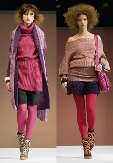 Модные свитера наступившей осени