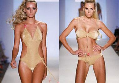 Модная осенняя тенденция – золотое нижнее белье