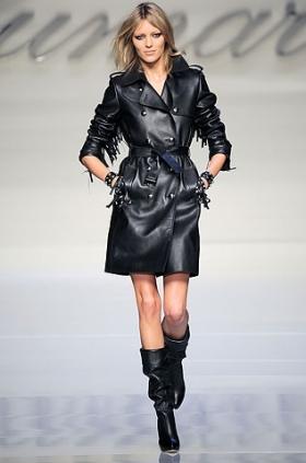 Модные плащи осень 2010