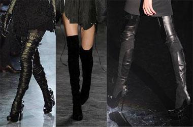 Модная обувь наступающей зимы