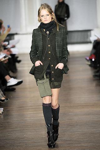 Модные шарфы зима 2011 от Rag&Bone