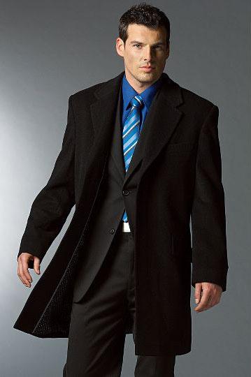 Пальто мужское черное длинное рост 180 размер 44-48... в избранное.
