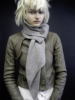 Модные шарфы наступающей зимы