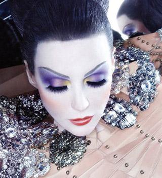 Актуальный макияж зима 2010/1011